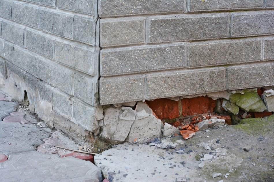 Foundation Damage Repairs and Replacement
